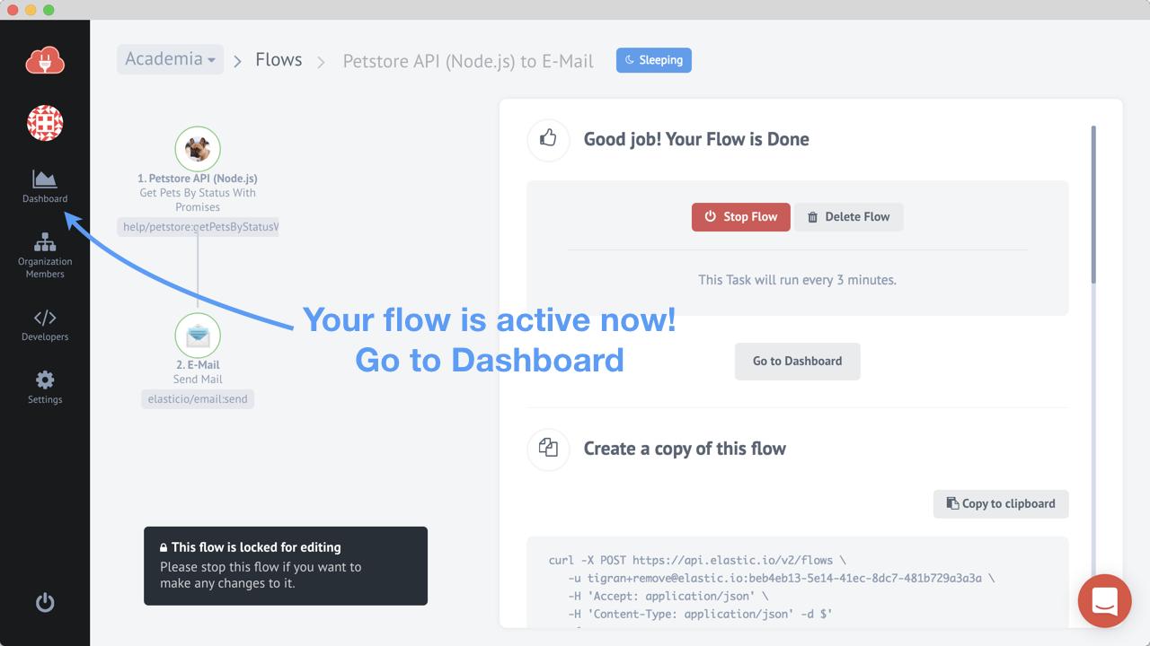 Flow is active