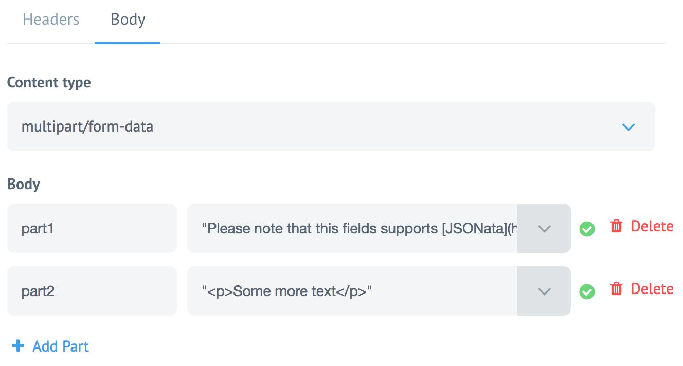 Sending Form data